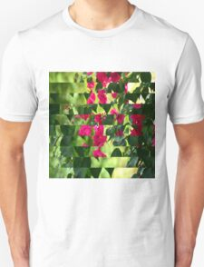 Pink Ribbon of Flowers T-Shirt