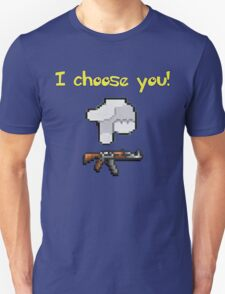 I choose you! Kalashnikov! | Vodkollection T-Shirt