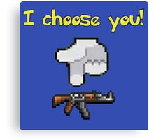 I choose you! Kalashnikov! | Vodkollection Canvas Print