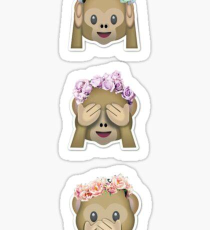 Lana Del Monkeys Sticker