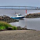 Boat Launch Ramp - Stockton NSW Australia by Phil Woodman