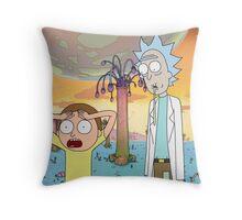 hwhhwhhooooHoHOhh Gee Rick! Throw Pillow