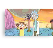 hwhhwhhooooHoHOhh Gee Rick! Canvas Print
