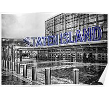 Staten Island Ferry Terminal Poster
