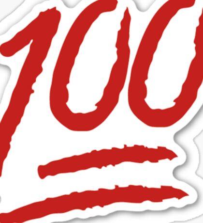 100 Sticker
