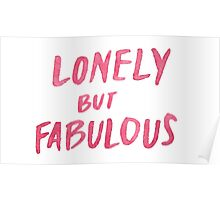 Lonely But Fab Poster