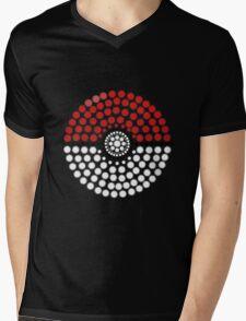 Dot To Catch 'Em All Mens V-Neck T-Shirt