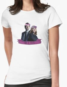 the x files Womens Fitted T-Shirt