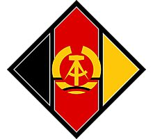 Emblem of aircraft of NVA (East Germany) Photographic Print