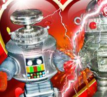 Valentine for Robots Sticker