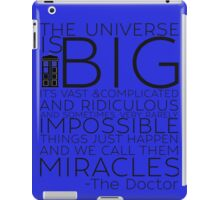 Miracles- The Doctor iPad Case/Skin