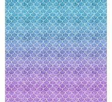 Mermaid Scales in Cotton Candy Photographic Print
