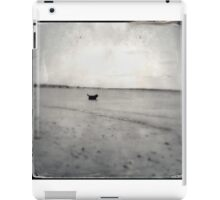 Black Lab in the Sea iPad Case/Skin