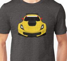 American Race car Unisex T-Shirt
