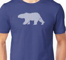 Minimal Polar Bear  Unisex T-Shirt