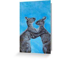Kangaroo Island Kangaroos Greeting Card