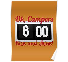 Ok, Campers. Poster