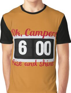 Ok, Campers. Graphic T-Shirt