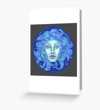 Madame Leota - Haunted Mansion Greeting Card