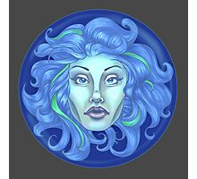 Madame Leota - Haunted Mansion Photographic Print