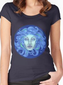 Madame Leota - Haunted Mansion Women's Fitted Scoop T-Shirt