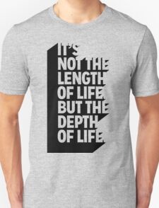 life Typography T-Shirt