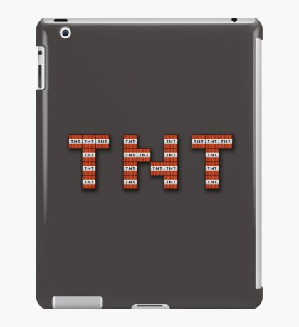 TNT iPad Case/Skin