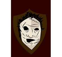 Shield of Leatherface Photographic Print