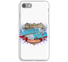 Extreme Marco Polo champion iPhone Case/Skin