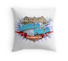 Extreme Marco Polo champion Throw Pillow