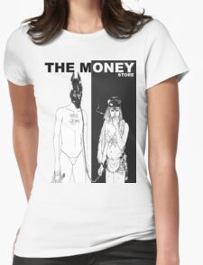 Death Grips - The Money Store  Womens Fitted T-Shirt