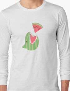 Watermelon Shark Long Sleeve T-Shirt