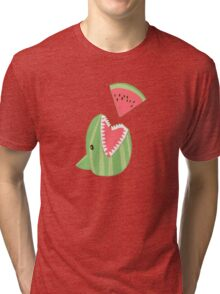 Watermelon Shark Tri-blend T-Shirt