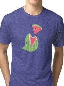 Watermelon Shark Tri-blend T-Shirt