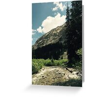 Empty River Greeting Card