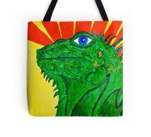 Iguana Power Tote Bag