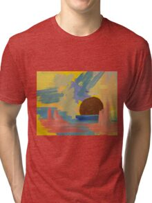 Harbour Sunset Tri-blend T-Shirt
