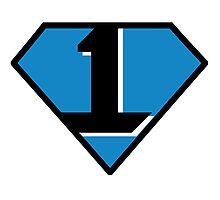 Cam Newton - #1 (Superman) Photographic Print