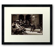 Poknajol Street Framed Print