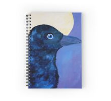 Spiritual Raven Spiral Notebook