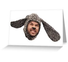 Wilfred face Greeting Card
