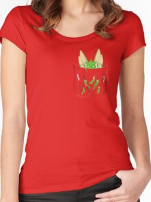 Dangerous to have Scyther in your Pocket Women's Fitted Scoop T-Shirt