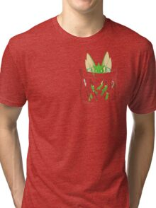 Dangerous to have Scyther in your Pocket Tri-blend T-Shirt