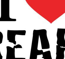 I Heart Freaks - ZAP CIRCUS Sticker