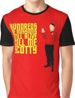 Scotty Always Survives Graphic T-Shirt