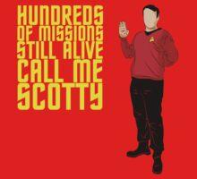 Scotty Always Survives by flushgorden