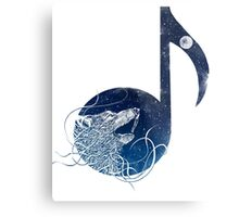 night sounds Metal Print
