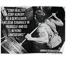 Arnold Schwarzenegger - Go Beyond Limitations Poster
