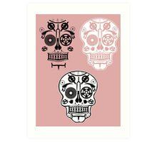 Skull shirt 1 Art Print
