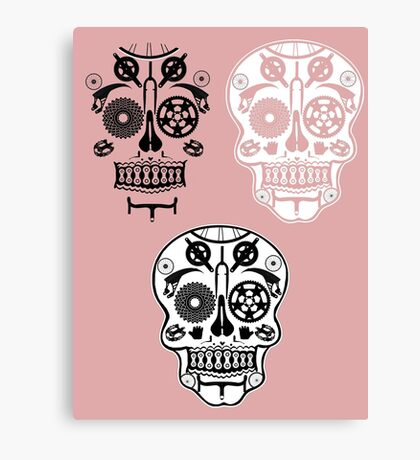 Skull shirt 1 Canvas Print